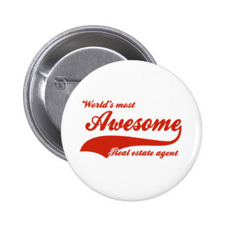 World's Most Awesome real estate agent Buttons