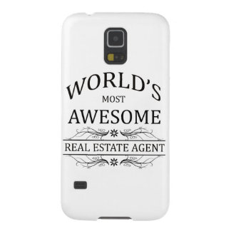World's Most Awesome Real Estate Agent Galaxy S5 Case