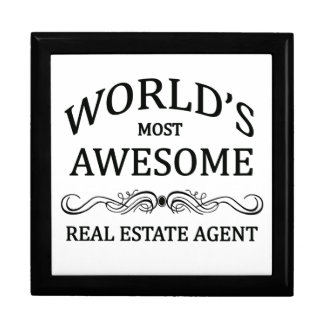 World's Most Awesome Real Estate Agent Gift Box