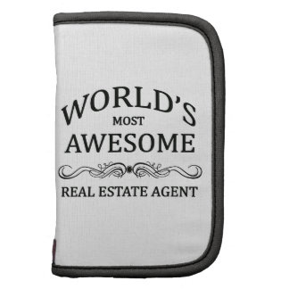 World's Most Awesome Real Estate Agent Folio Planners