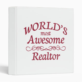 World's Most Awesome Realtor Binder