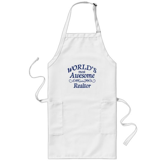 World's Most Awesome Reator Long Apron
