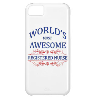 World's Most Awesome Registered Nurse iPhone 5C Cover