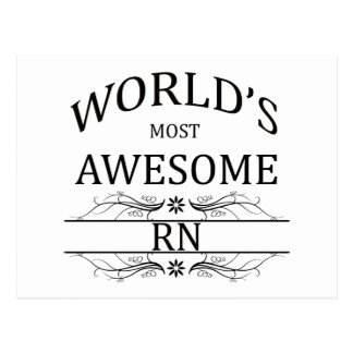 World's Most Awesome RN Postcard