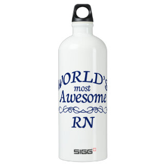 World's Most Awesome RN SIGG Traveler 1.0L Water Bottle