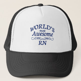 World's Most Awesome RN Trucker Hat