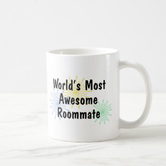 World's Most Awesome Roommate Mug