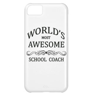 World's Most Awesome School Coach iPhone 5C Cover