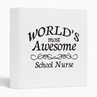 World's Most Awesome School Nurse Binder