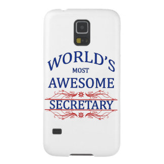 World's Most Awesome Secretary Case For Galaxy S5