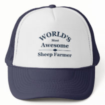 World's most awesome sheep farmer trucker hat