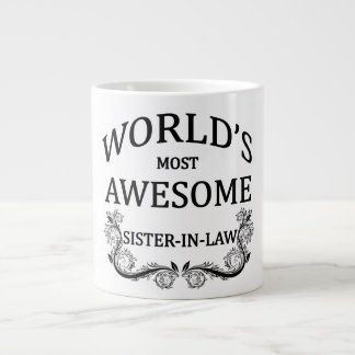 World's Most Awesome Sister-In-Law Large Coffee Mug