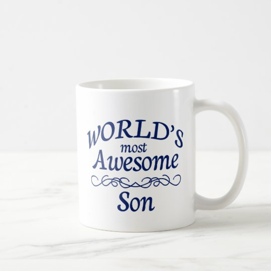 World's Most Awesome Son Coffee Mug