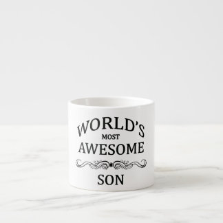 World's Most Awesome Son Espresso Cup
