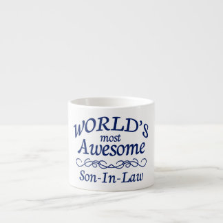 World's Most Awesome Son-In-Law Espresso Cup