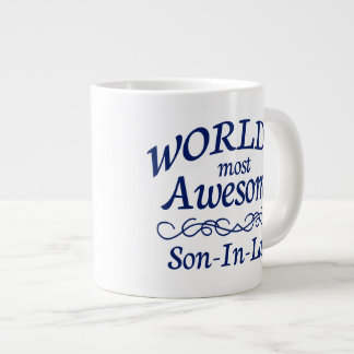 World's Most Awesome Son-In-Law 20 Oz Large Ceramic Coffee Mug