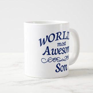 World's Most Awesome Son Large Coffee Mug