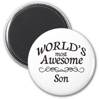 World's Most Awesome Son Magnet