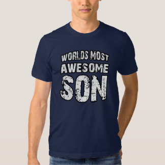 World's Most Awesome Son T-Shirt