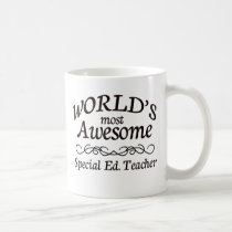 World's Most Awesome Special Ed. Teacher Coffee Mug