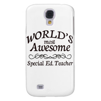 World's Most Awesome Special Ed. Teacher Galaxy S4 Case