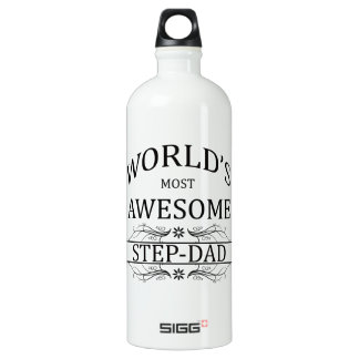 World's Most Awesome Step-Dad SIGG Traveler 1.0L Water Bottle