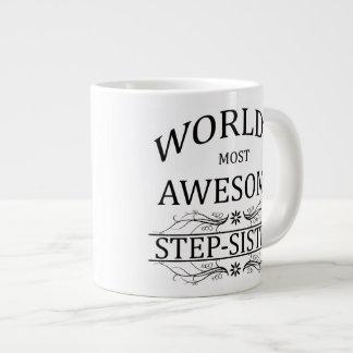World's Most Awesome Step-Sister Giant Coffee Mug