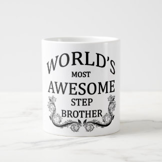 World's Most Awesome Stepbrother Large Coffee Mug
