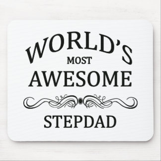 World's Most Awesome Stepdad Mouse Pad
