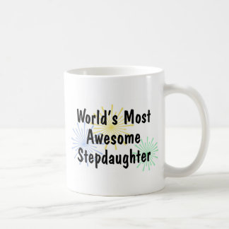 World's Most Awesome Stepdaughter Mug