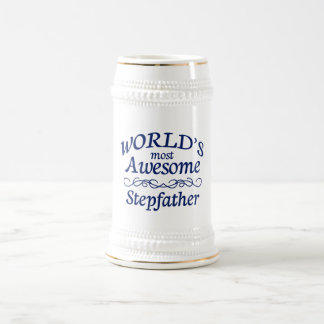 World's Most Awesome Stepfather Beer Stein