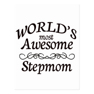 World's Most Awesome Stepmom Postcard