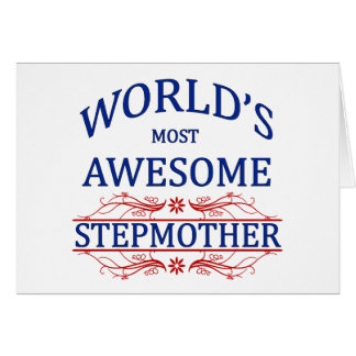 World's Most Awesome Stepmother Card