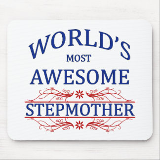 World's Most Awesome Stepmother Mouse Pad