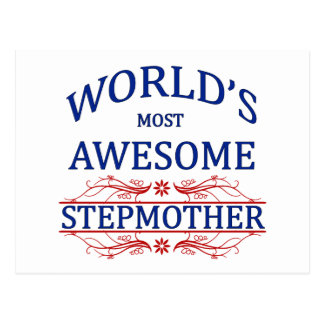World's Most Awesome Stepmother Postcard