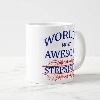 World's Most Awesome Stepsister Giant Coffee Mug