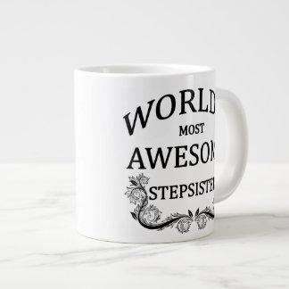 World's Most Awesome Stepsister Large Coffee Mug