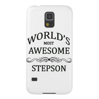 World's Most Awesome Stepson Galaxy S5 Cover