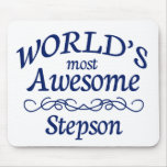 World's Most Awesome Stepson Mouse Pad