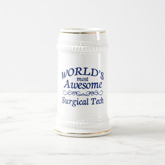 World's Most Awesome Surgical Tech Beer Stein