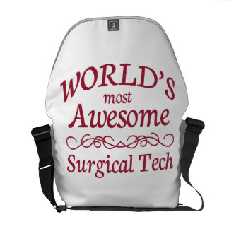 World's Most Awesome Surgical Tech Courier Bag