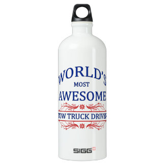 World's Most Awesome Tow Truck Driver SIGG Traveler 1.0L Water Bottle
