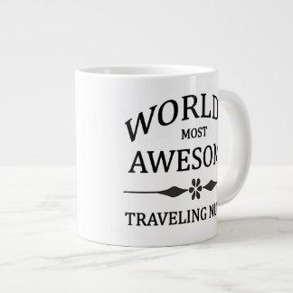 World's Most Awesome Traveling Nurse Large Coffee Mug