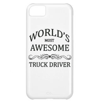 World's Most Awesome Truck Driver Cover For iPhone 5C