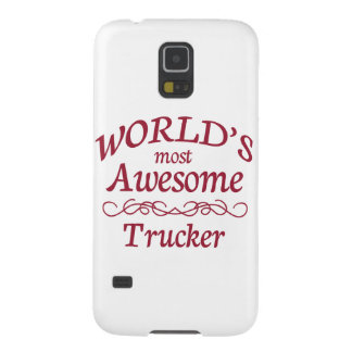 World's Most Awesome Trucker Galaxy S5 Case