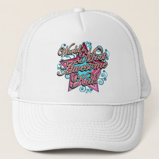 Worlds Most Awesome Trucker Hat