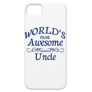 World's Most Awesome Uncle iPhone SE/5/5s Case