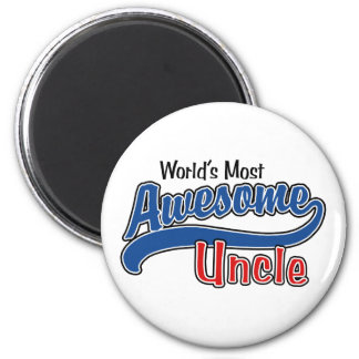 World's Most Awesome Uncle Fridge Magnets