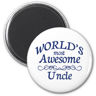 World's Most Awesome Uncle Magnet