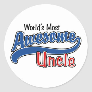 World's Most Awesome Uncle Sticker